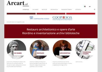 Ottimizzazione del sito Web Arcart