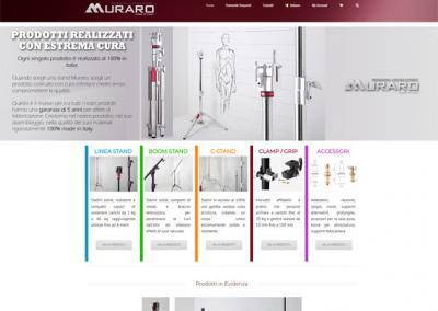 Ottimizzazione Sito Web Ecommerce per Muraro