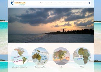 Realizzazione Sito Web Maxyma Viaggi Tour Operator