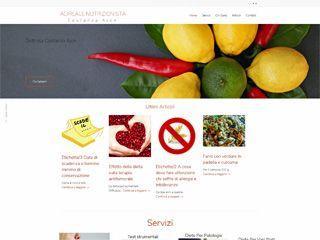 Realizzazione del Blog per la Nutrizionista Costanza Ajon di Acireale